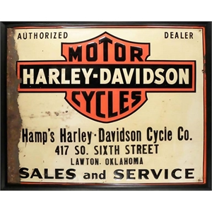 Placa Harley-Davidson Sale and Service