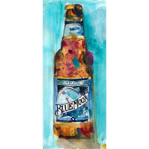 Placa Blue Moon Beer