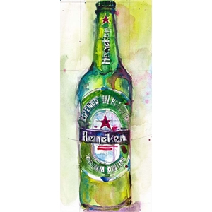 Placa Heineken Beer